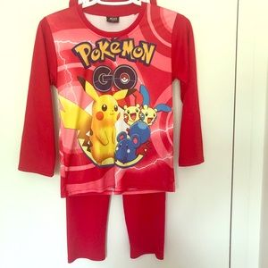 Pokemon Pajama Suit